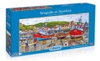 Seagulls at Staithes - 636 Pieces  Gibsons Jigsaws